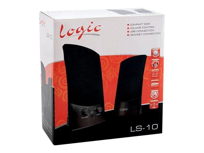 Logic LS-10 - Højttalere - sort