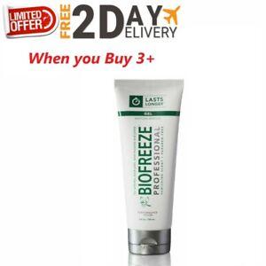 Biofreeze-Professional-4-oz-Gel-GREEN-Tube-LONG-LASTING-FREE-SHIPPING