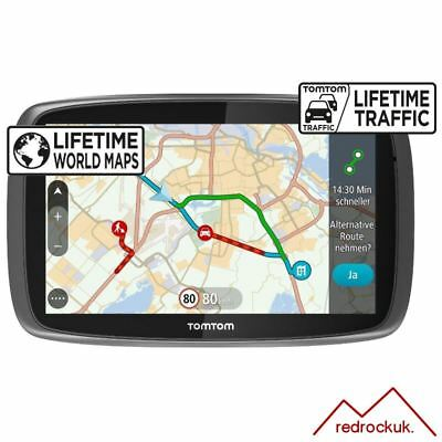 TomTom GO 6100 Sat Nav with MyDrive & Lifetime Traffic & Lifetime World Maps