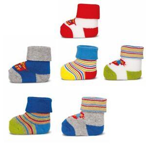 ewers-3er-Set-Baby-Socken-Erstlingssoeckchen-Graziela-Bauernhof