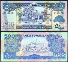 SOMALILAND 500 Shillings 1996 UNC P 6 b