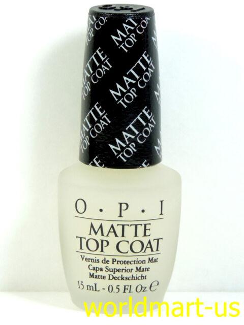 OPI Matte Top Coat 15ml/0.5.oz Natural Nail Polish NT T35- Matte Top Coat