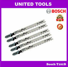 Bosch T101B HCS Clean for Wood Jigsaw Blade – Thickness 3 - 30mm | Pack of 5nos