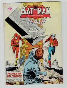 Flash 123 Mexican Variant Batman 176 Novaro 1st Earth Ii