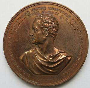 Preussen-Bronzemedaille-1820-von-Koenig-auf-70-Geburtstag-Fuerst-von-Hardenberg