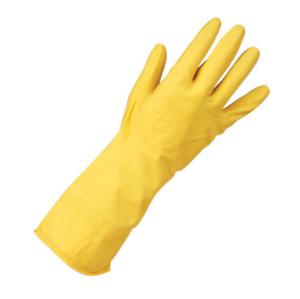Extra-Clean-Grip-Lourds-Caoutchouc-Gants-Jaune-8-5-Grand