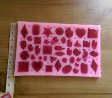 Jewellery making craft mold silicone small mould heart star moon cabochon craft