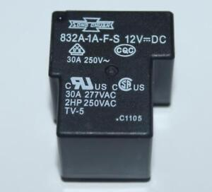 2-PEZZI-RELE-SONG-CHUAN-832A-1A-F-C-B-12VDC-30A-PCE