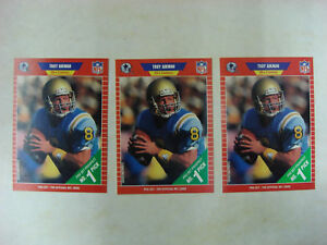 3-1989-PRO-SET-NFL-PROSPECT-TROY-AIKMAN-DALLAS-COWBOYS-ROOKIE-CARDS-490-SUPER