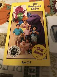 Barney - The Backyard Show (VHS, 1992) 45986980113 | eBay