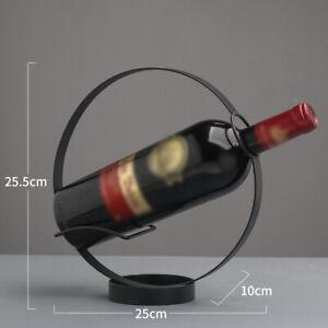 Vino-Scaffale-Muro-Montatura-Ferro-Bottiglia-Stand-Occhiali-Sostegno-Casa-Cucina