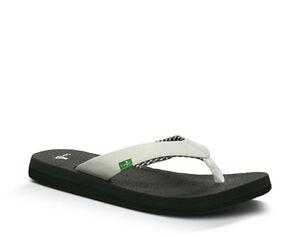 Sanuk-Yoga-Mat-Women-039-s-Sandal-White-SWS2908-WHT