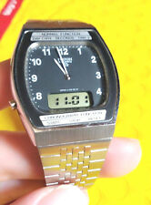vintage perfect unused RICOH J-120-03-01 digi ana digital analog watch