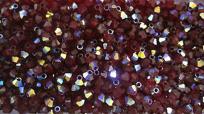 Kristallperlen Glasperlen Bicone von PRECIOSA 3 mm 20x   BACATUS