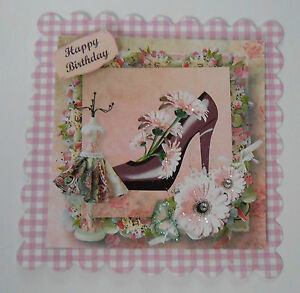 PK-2-HAPPY-BIRTHDAY-SHOE-DRESS-EMBELLISHMENT-TOPPERS-FOR-CARDS-CRAFTS