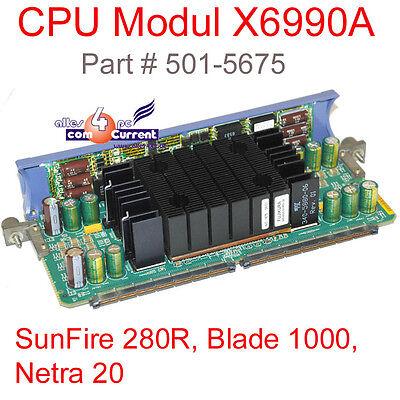 Sun Sun Feu 280r Lame 1000 Netra 20 X6990a +750mhz CPU Vrm Board # Sl
