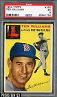 1954 Topps #250 Ted Williams HOF Boston Red Sox PSA 5 EX