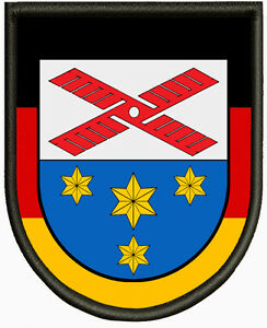 Wappen-von-Harmsdorf-Aufnaeher-Pin-Aufbuegler