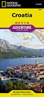 Croatia Adventure Travel Map National Geographic Waterproof