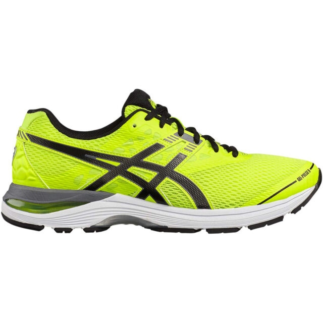 ASICS Gel-Pulse 9 Safety Yellow/Black Men's Running Trainers Shoes UK 6.5 - 12