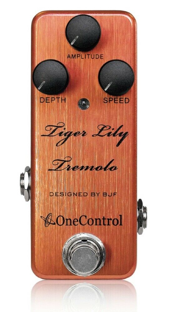 One Control Tiger Lily Tremolo Guitar Effect Pedal