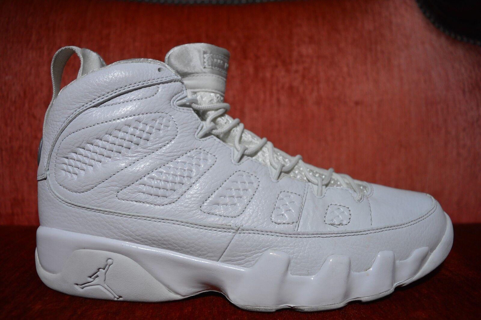49559ea02153ef CLEAN Nike Air Air Air Jordan Retro 9 IX Anniversary Size 11.5 302370-104  White