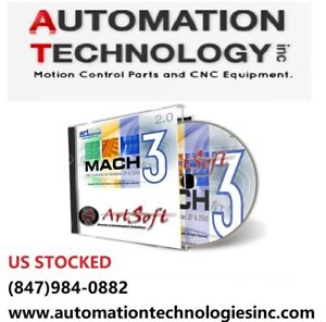 Details about Fully Licensed Mach3 CNC Software by Artsoft Control CNC We  will ship you a CD