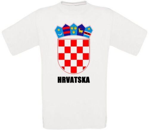 Kroatien Croatia Hrvatska Zagreb Balkan T-Shirt alle Größen NEU
