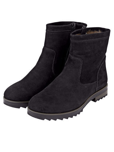 Remonte zapatos botas botín botín botín Zapatos Cuero talla 38 (5) negro muy cálido  genuina alta calidad