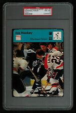 PSA 8 MONTREAL FORUM 1979 Sportscaster Hockey #56-05 DARRYL SITTLER RON LaLONDE