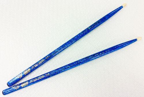 VATER Color Wrap Wood Tip 5A Blue Paar