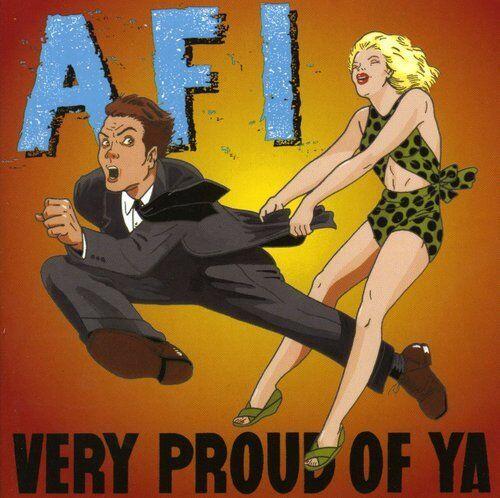 1 of 1 - AFI, A.F.I. - Very Proud of Ya [New CD]