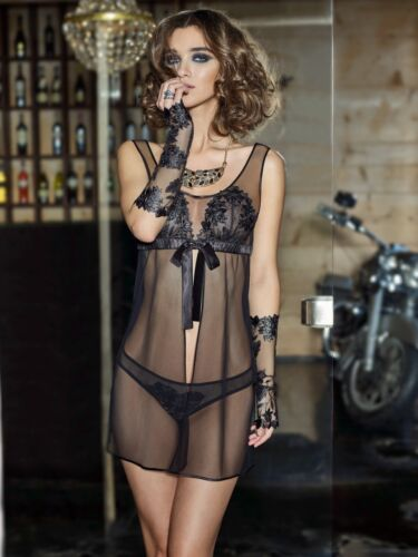 Lace Sexy Sexy S Chemise 36 Bottom Camicia Gr Babydoll Lingerie notte da COfB11