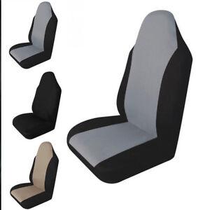 Black-Gray-Universal-sponge-nylon-cloth-Car-Seat-Cover-Seat-Cushion-Protector