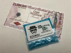 Breaking Bad Crystal Candy - 1 x 20g Bag (Fruit Flavour) + £1m Joke Banknote