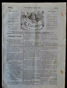 Risorgimento-Giornale-Il-Fischietto-Torino-Unita-Nazionale-Potere-Papato-1862