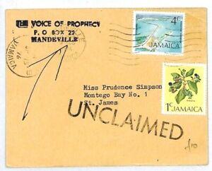 La Jamaïque Mandeville La Voix De La Prophétie Non Réclamés 1976 {samwells Couvre -} Cw280-rs} Cw280 Fr-fr Afficher Le Titre D'origine Garantie 100%