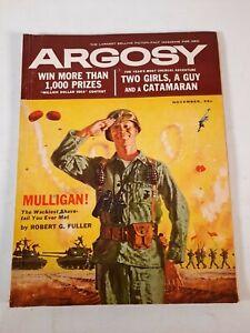 Vintage November 1959 Argosy fiction fact mens magazine