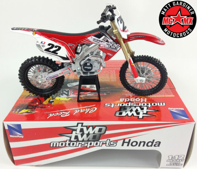 newray honda crf450r 2012 chad reed twotwo bike 57453. Black Bedroom Furniture Sets. Home Design Ideas