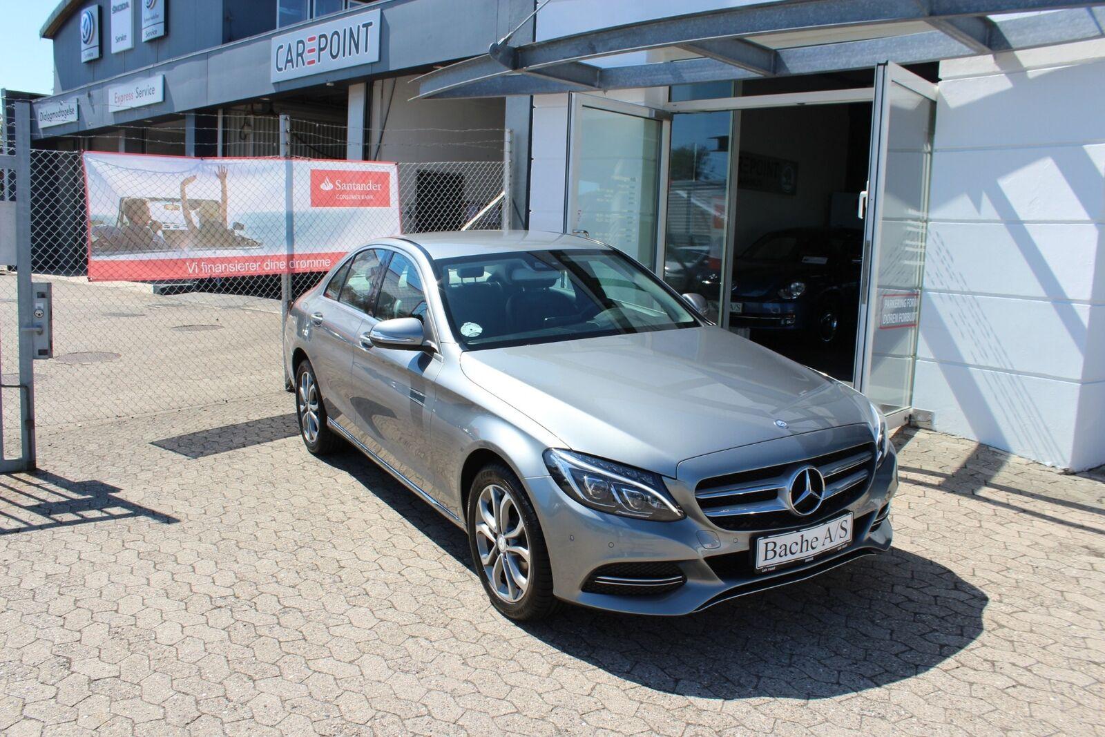Mercedes C200 2,0 Avantgarde aut. 4d