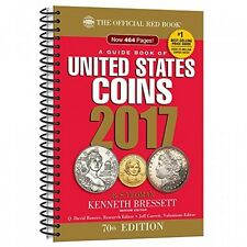 A Guide Book of United States Coins 2017 The Official Red Book, Spiralbound