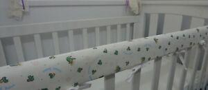 x 1 Cot  Rail Cover Navy Crib Teething Pad