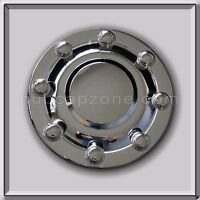 1999-2000 Dodge Ram Dually 3500 Front Wheel Chrome Hub Cap, Truck Center Cap