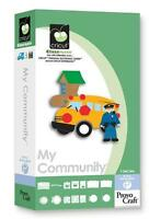 Cricut My Community Shapes Cartridge New( No Clamshell, Seal Or Points)