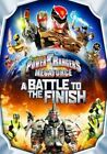 Power Rangers Megaforce a Battle to The Finish 2014 R1 DVD