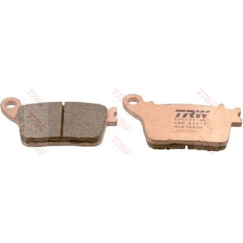 1 Bremsbelagsatz Scheibenbremse TRW MCB784SH Sinter Street passend für