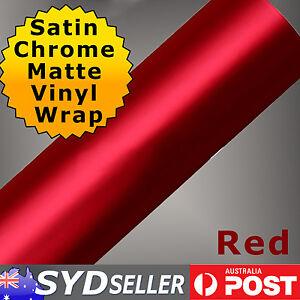 Deluxe-75-x-151cm-Red-Satin-Chrome-Matte-Vinyl-Car-Wrap-Air-Release-Sticker-Film