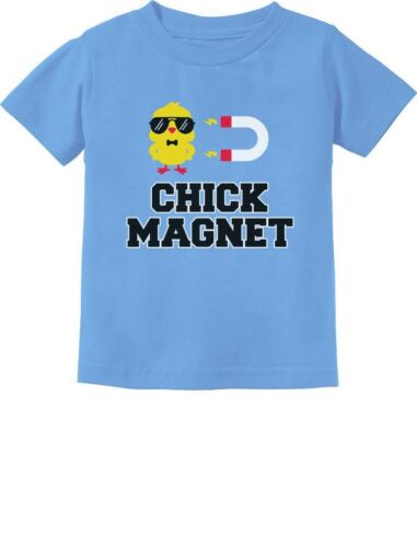 Chick Magnet Funny Outfit For Boys Toddler Kids T-Shirt For Easter