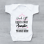 Back Off I Have A Crazy Mummy Funny Girls Baby Grow Bodysuit