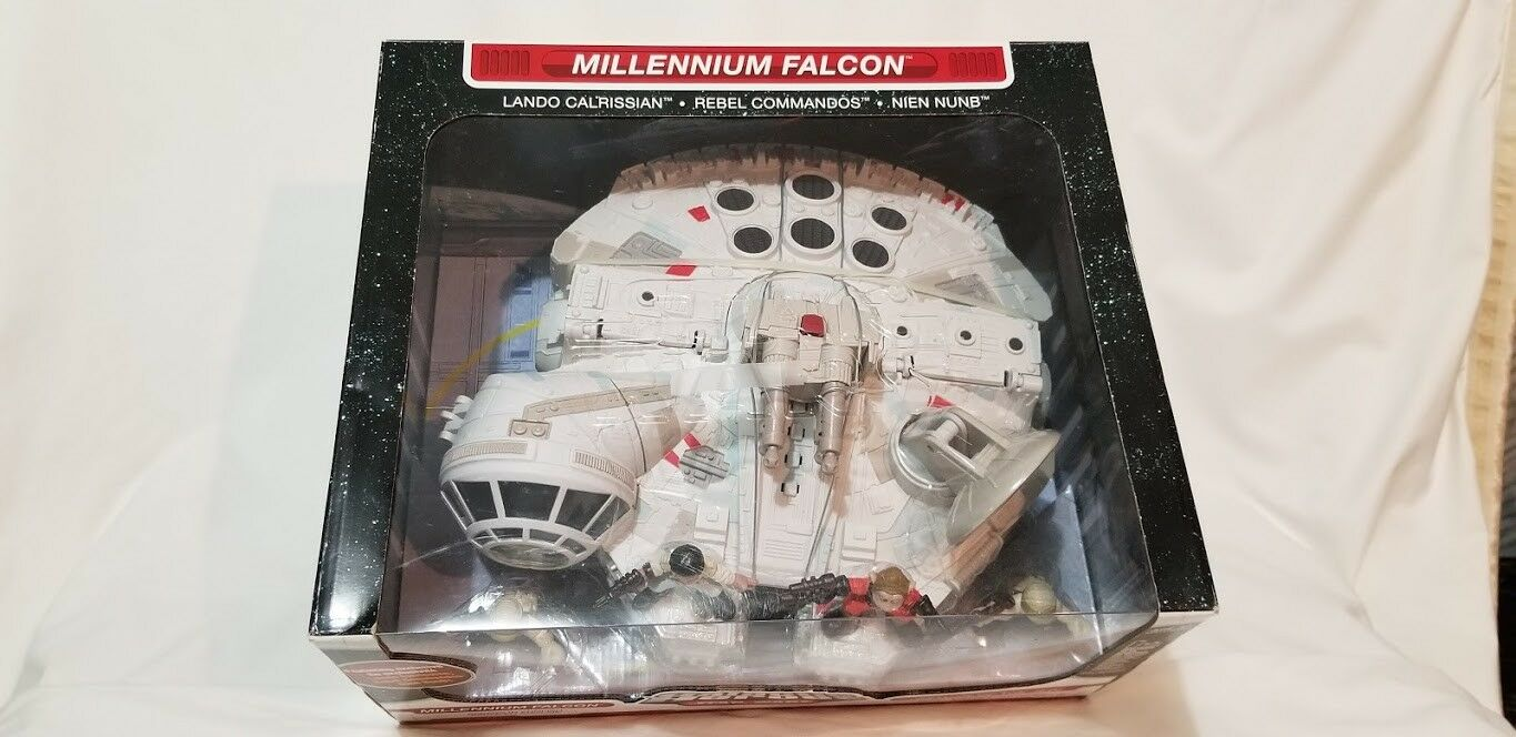 Star Wars Galactic Galactic Galactic Heroes Millennium Falcon - New Factory Sealed 291e48